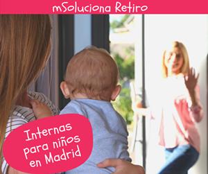 empleada de hogar interna niños Madrid
