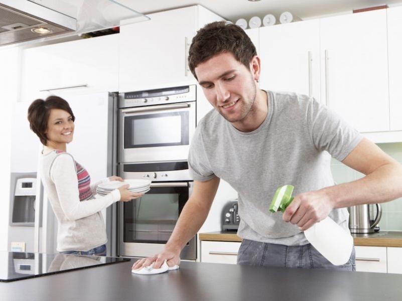 Cómo mantener la casa limpia sin problemas